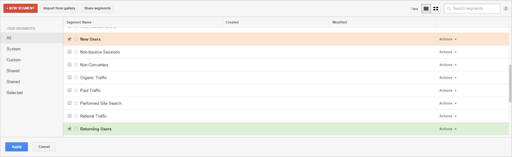 New-and-Returning-Users-Segment-Screen