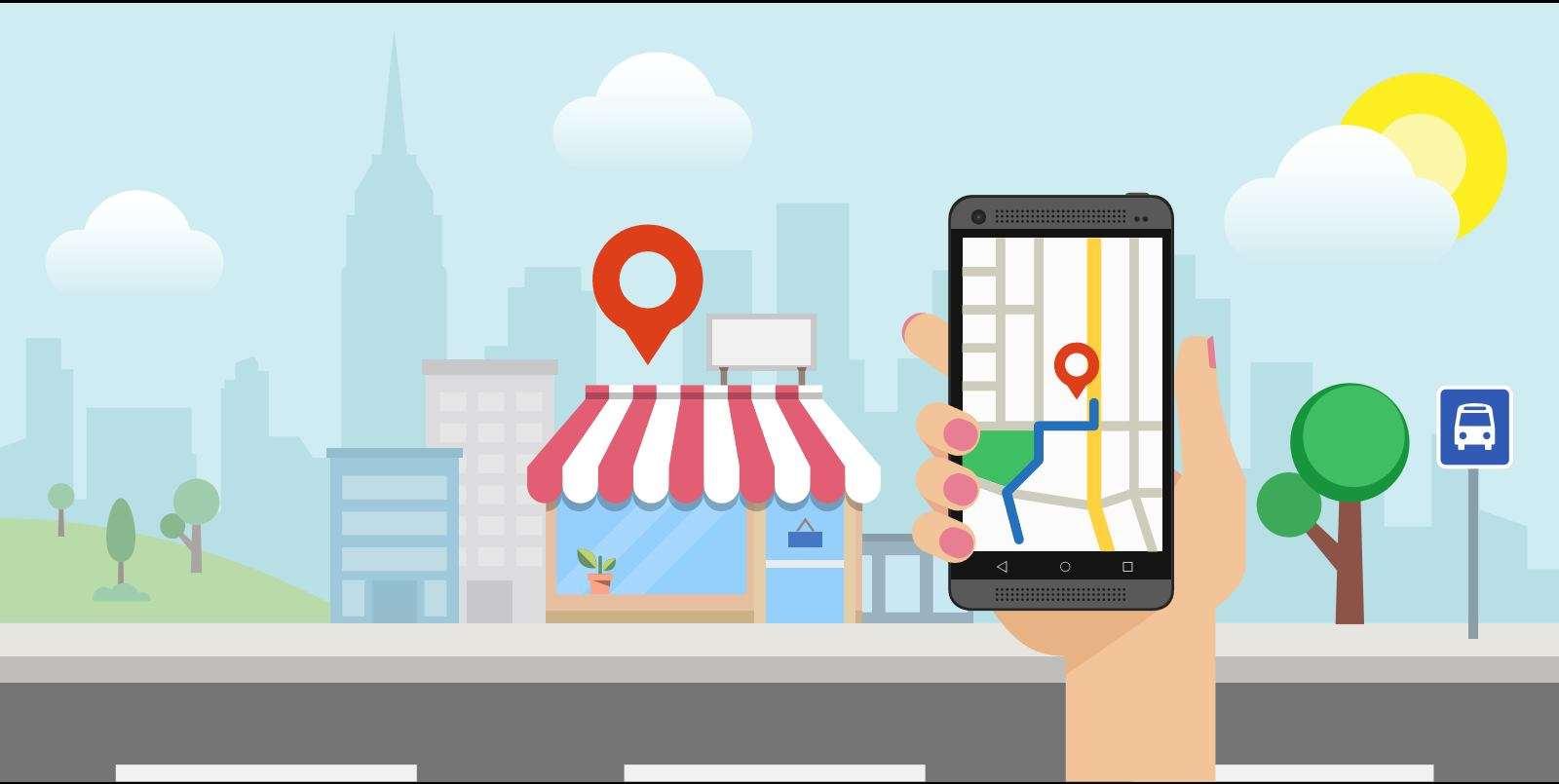 Local search graphic
