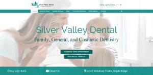 Silver Valley Dental screenshot