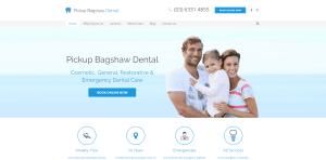 Pickup Bagshaw Dental screenshot