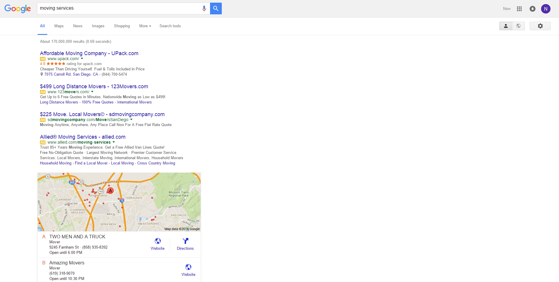 Google's newest SERP layout