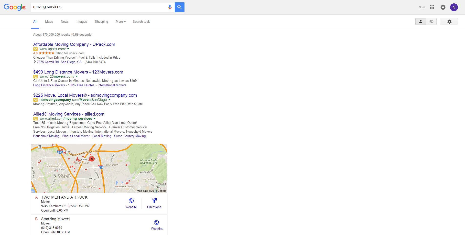Google's newest SERP layout