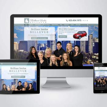 Brilliant Smiles Bellevue Responsive Practice Website