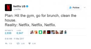 Netflix Social Media