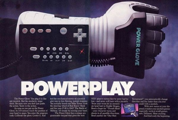The Power Glove - an example of great marketing for a terrible product.