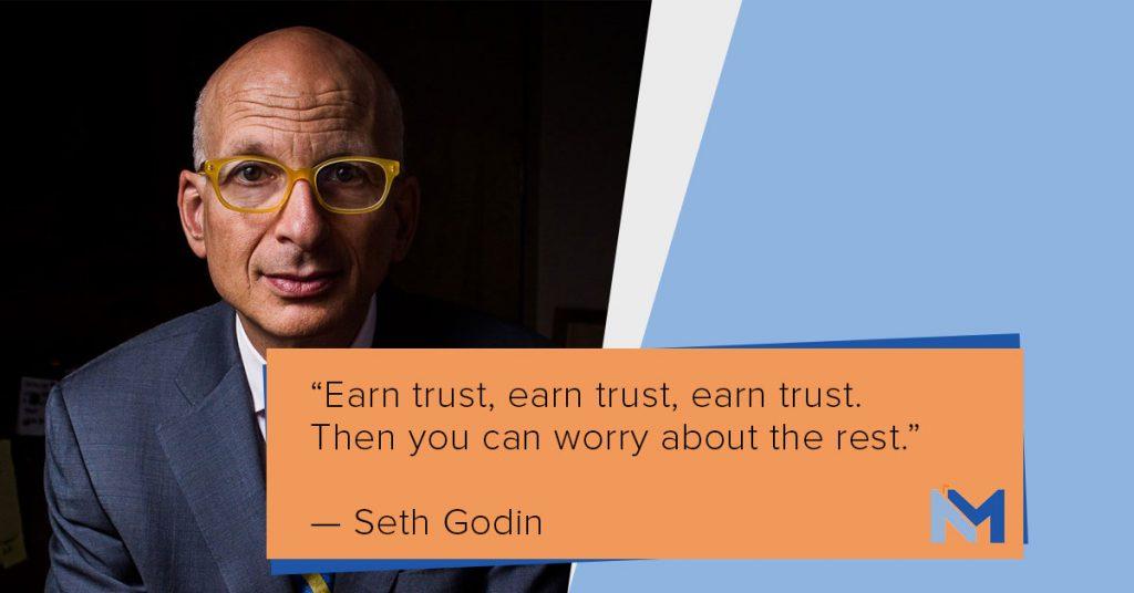 Simon Sinek on trust.