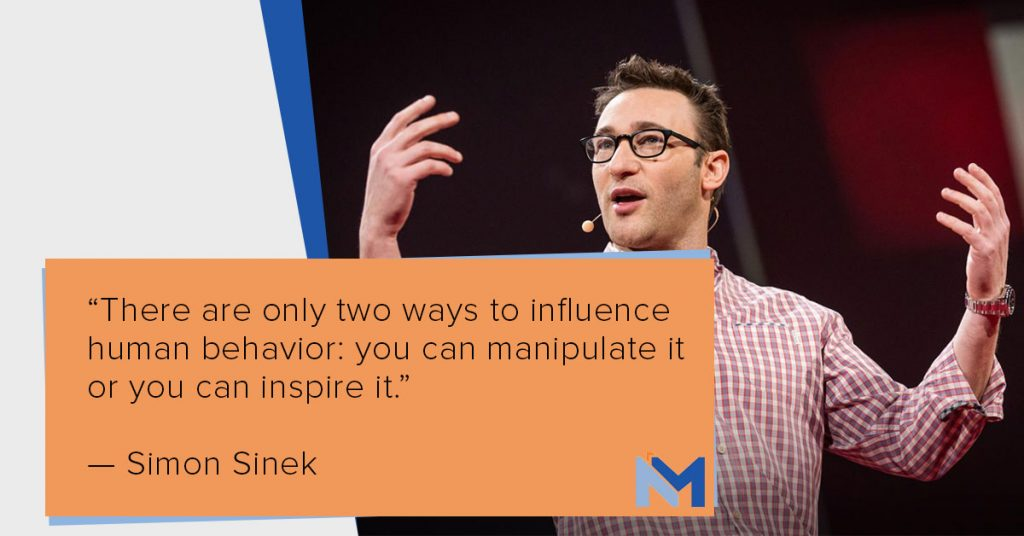 Simon Sinek leadership quote